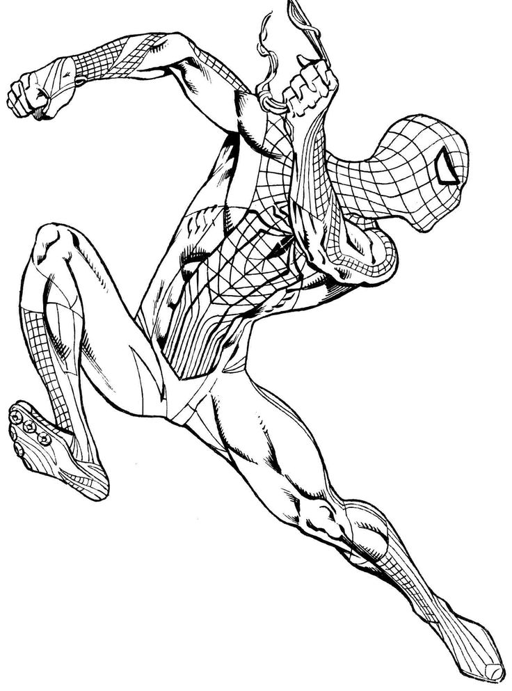 43 best spiderman coloring pages images on pinterest for Spiderman coloring book pages