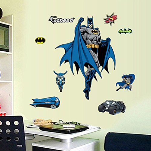 Home dcor wall sticker wall decal Batman Kids Room -- Click image to review more details.