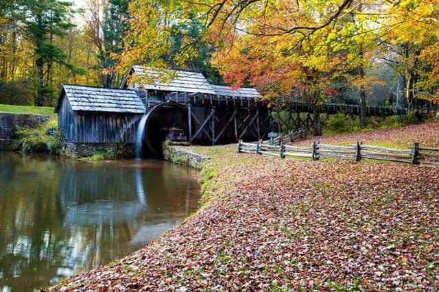 Mabry Mill On The Blue Ridge Parkway No Place Like Home
