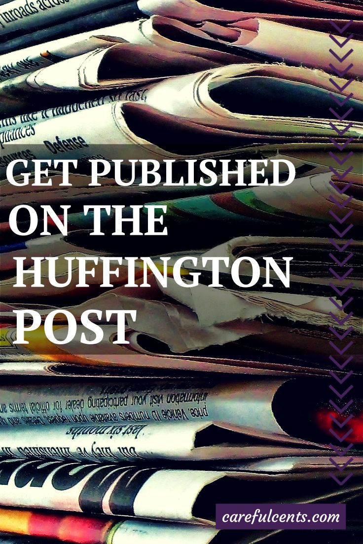 write for huffington post The huffington post complete guide to blogging [the editors of the huffington  post,  it was the best of sentences, it was the worst of sentences: a writer's.