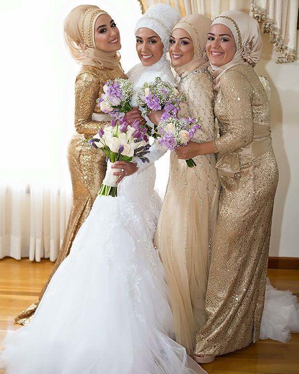 Populaire Les 25 meilleures idées de la catégorie Hijab soirée sur Pinterest  MC91