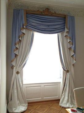 Elegant Drapery - traditional - spaces - baltimore - Creative Drapery & Decor