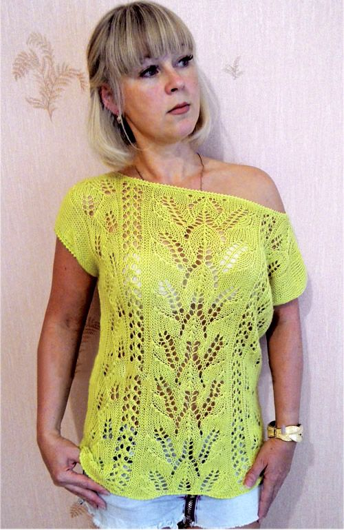 Knitting Patterns For Tops Free : 309 best images about Free Knitting Patterns on Pinterest Cable, Lace and L...