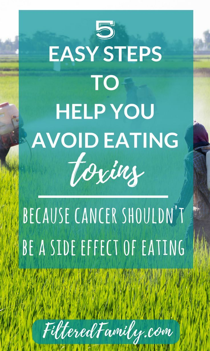 5 Steps To Avoid Eating Toxins