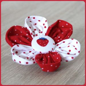 Blütenzauber: Stoffblumen Tutorial - modage