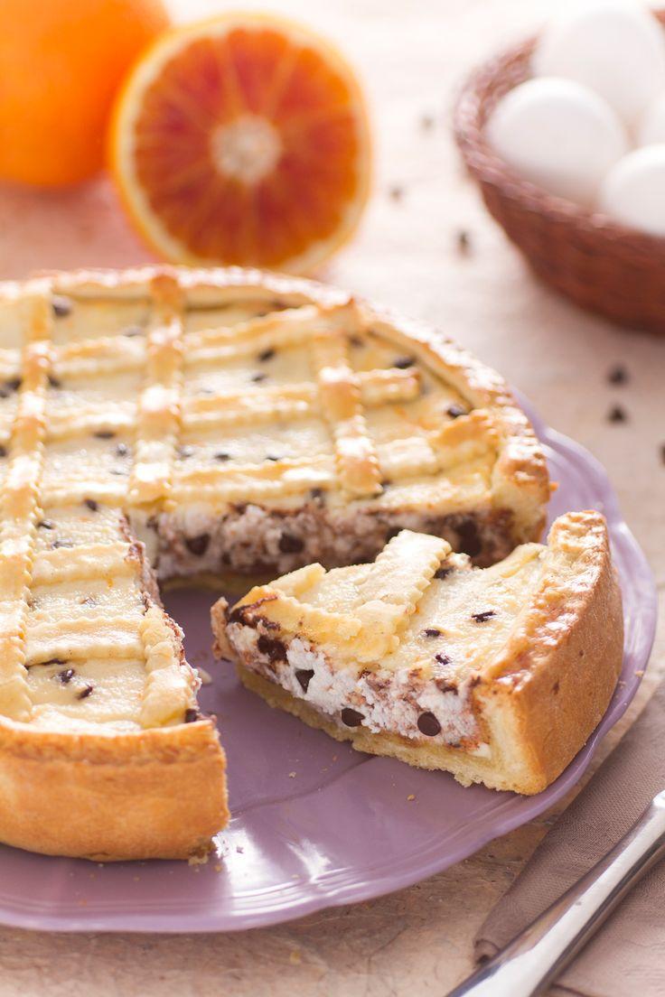 Crostata pasquale alla ricotta e cioccolata: una vera goduria per la tua tavola di Pasqua!  [Chocolate and ricotta cheese tart]