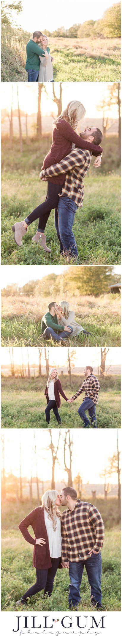 outdoor engagement session, sunset engagement session, glowy light engagement session, glowly light engagement photos, outdoor fall engagement photos, fall farm engagement session, outfit inspiration for fall engagement session, outfit inspiration for engagement session, farm engagement, what to wear to my engagement session, IL wedding photographer, IL engagement photographer, Jill Gum Photography, IL photographer, Central IL photographer