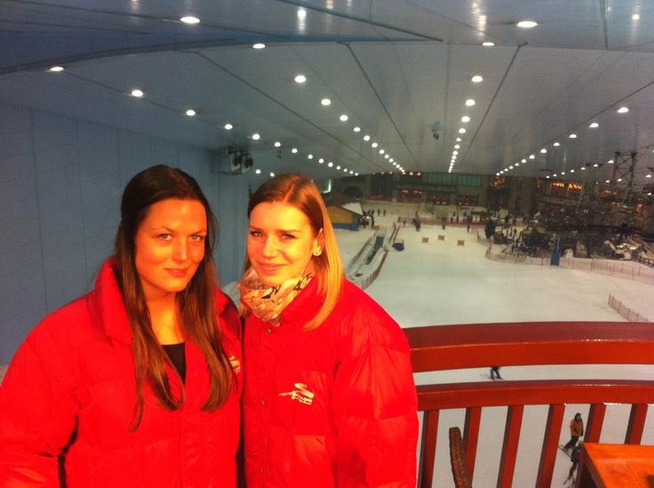 Team 12 ontdekt Ski Dubai #NHTV #3MTT