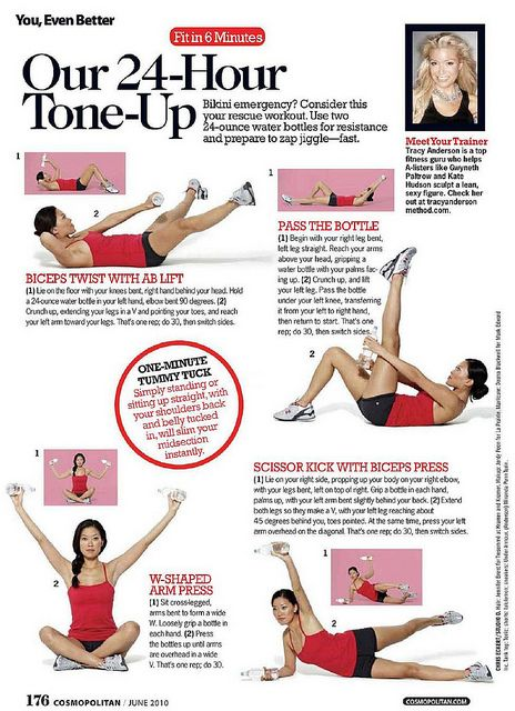 Fickr set of Tracy Anderson workouts