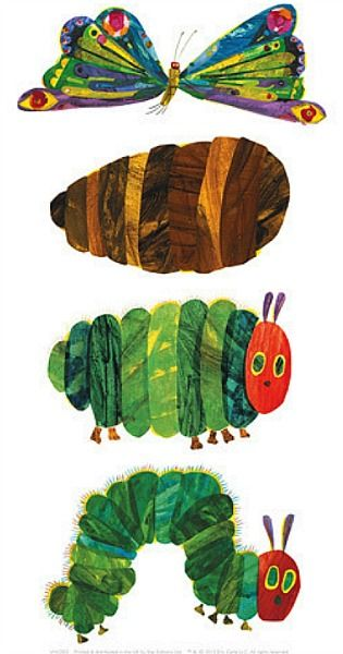 The Very Hungry Caterpillar Mais