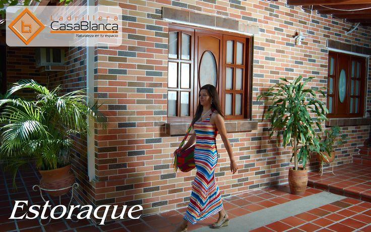 Estoraque 7 x 25 cm Ladrillera Casablanca , armonia, estilo y diseño el perfecto equilibrio entre la naturaleza y el descanso, si piensas remodelar, piense en ladrillera casablanca naturaleza en tu espacio.  www.ladrilleracasablanca.com