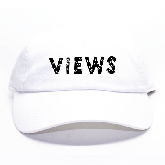 Drake Views From The 6 White Dad Hat