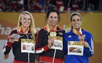 Χάλκινο μετάλλιο για τη Στεφανίδη στο παγκόσμιο κλειστού στίβου του Πόρτλαντ.