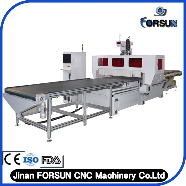 Good price!!! Professional panel furniture marking cnc cutting drilling machine router for cabinet closet
