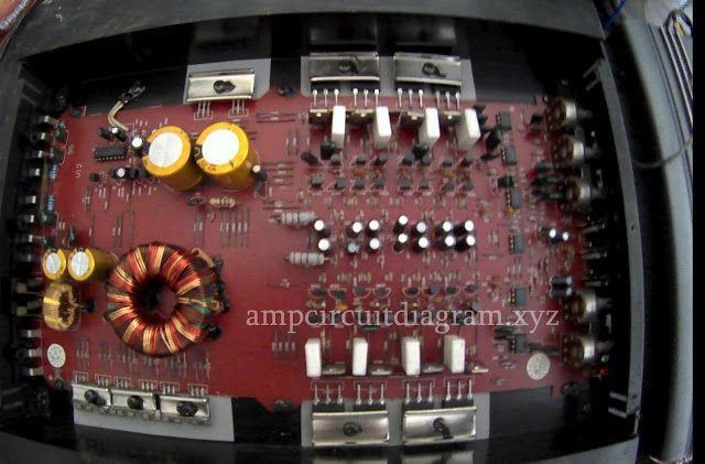 1200Watt Car Power Amplifier Audiobose