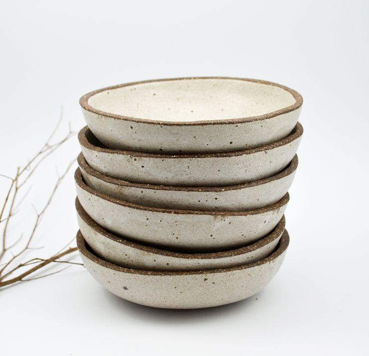 Rustic Stoneware Bowls by Susan Simonini