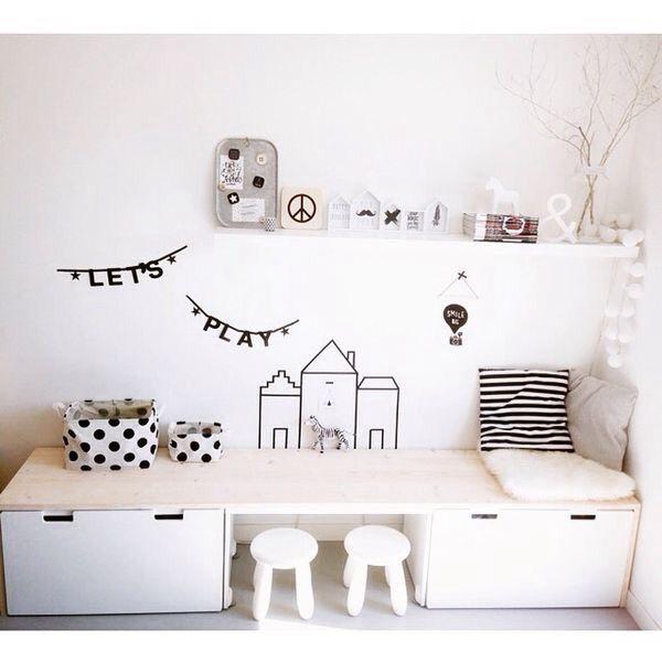 5 idées de rangement pour les affaires de vos enfants - Mon Atelier Déco. Des belles idées pour que les kids retrouvent facilement leurs jouets.