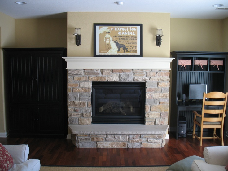 16 best Built-ins around fireplace images on Pinterest | Fireplace ...