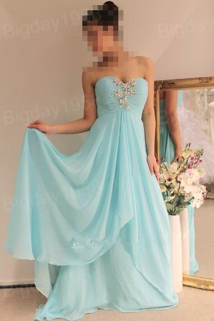 chiffon prom dress, cheap prom dresses, cheap bridesmaid dress, long prom dress, formal dress on Etsy, $138.34 CAD