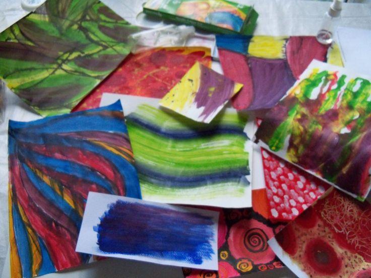 colorful meanderings