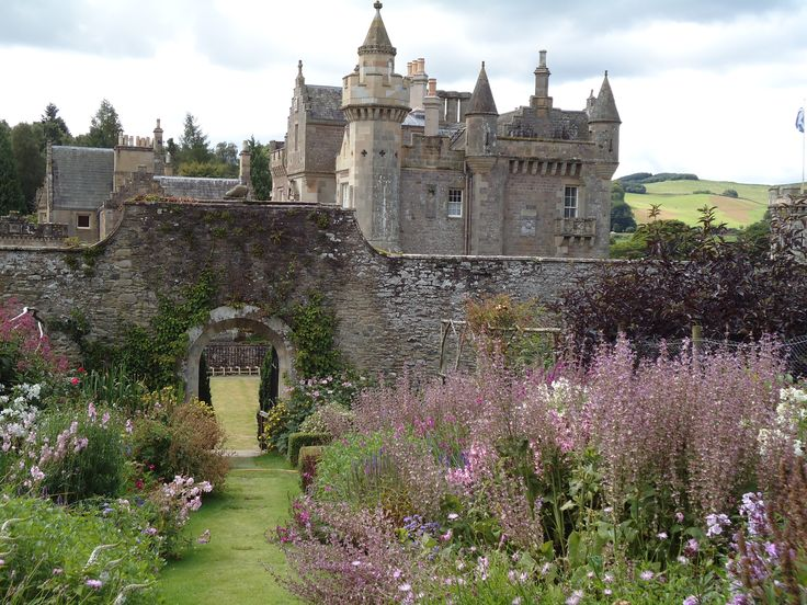 One of the beautiful castles in Scotland.