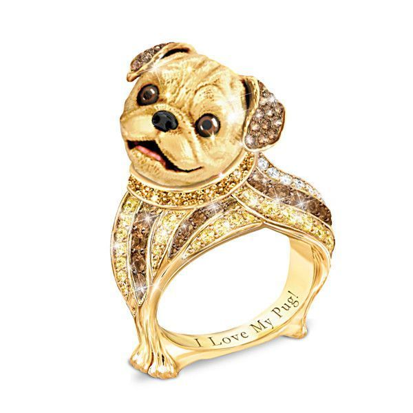 Best In Show Pug Ring Pug Dog Pug Love Pugs
