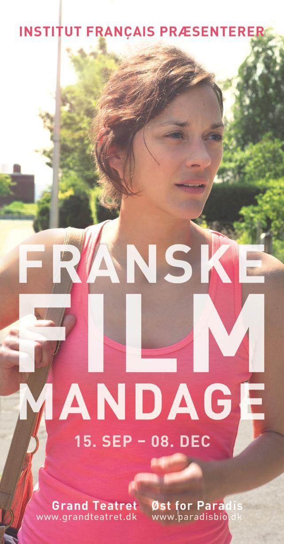 Franske Film Mandage 2014 - Institut français du Danemark.