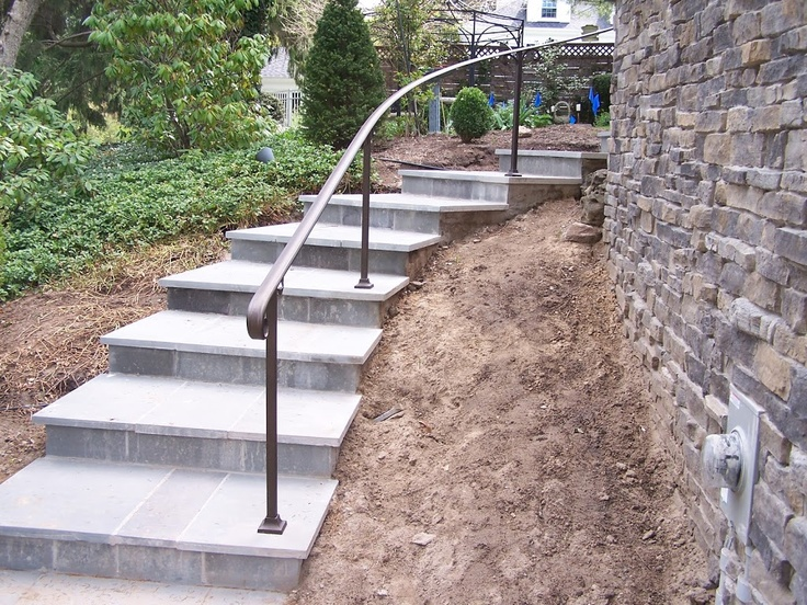 Exterior Wrought Iron Handrails For Steps. interior stairways indoor ...