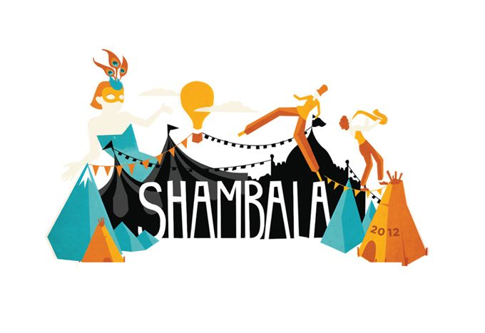 SHAMBALA 2012 Festival Branding concepts