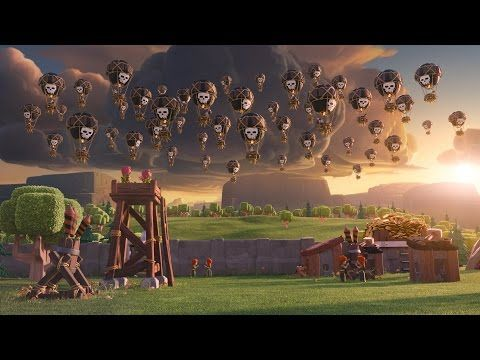 Clash of Clans: Balloon Parade (Official TV Commercial) - YouTube. In case any of y'all are wondering what all the singing is about.
