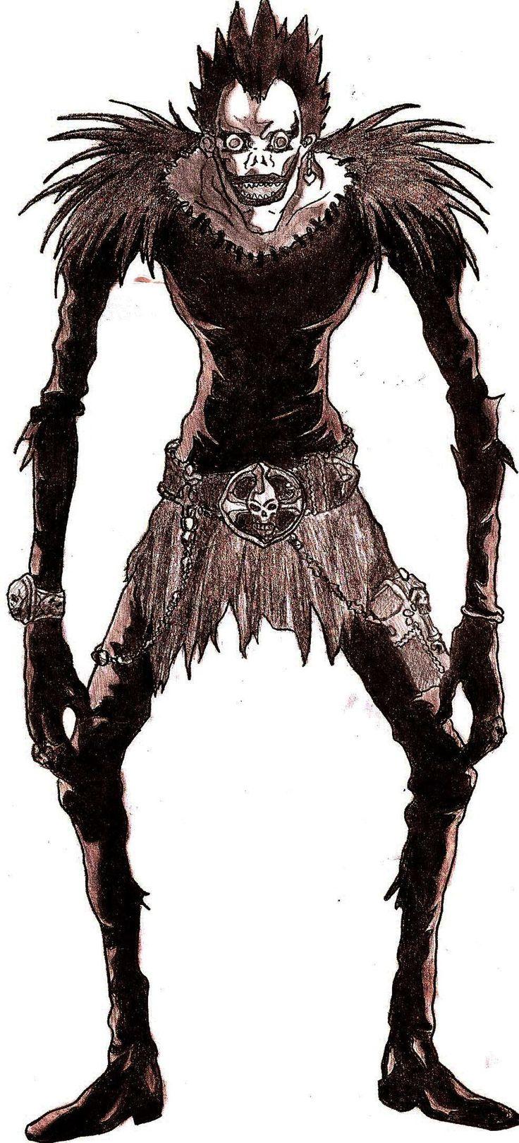 Google themes death note - Death Note Ryuk