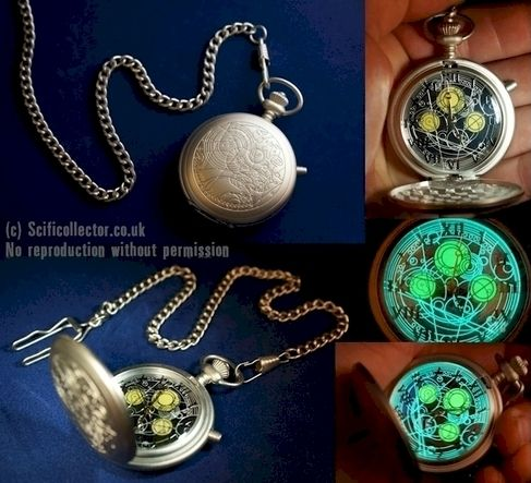 Doctor Who Masters Fob Watch - Scificollector -Creators of the Merlin & Torchwood Action Figures & Exclusive Doctor Who Merchandise