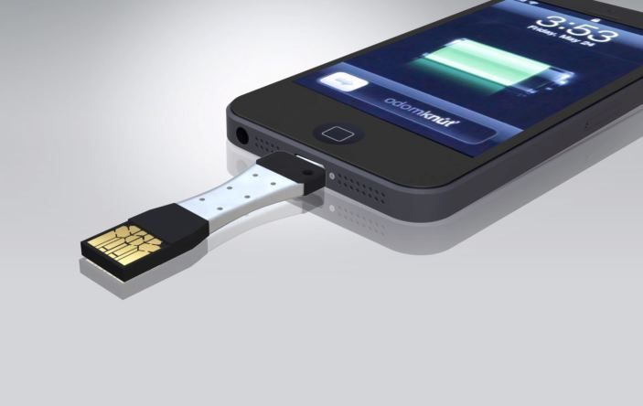 Slovaks rocks in Last Vegas: Introduced mini charger for mobile phones