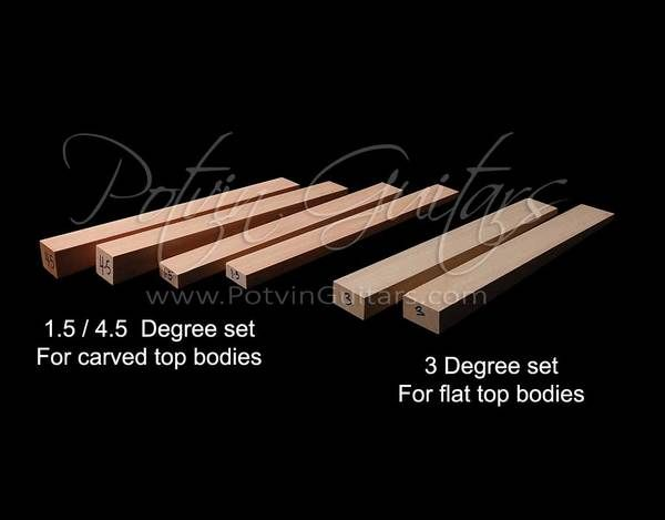 Neck Angle Wedge Kits Guitar Building Guitar Body Don T Let Me Down