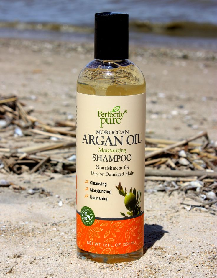 Perfectly Pure Moroccan Argan Oil Shampoo infuses every