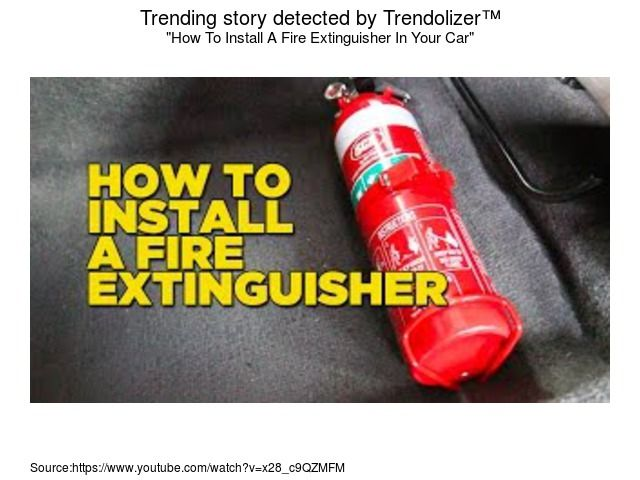 how to install a fire in your car howto install car