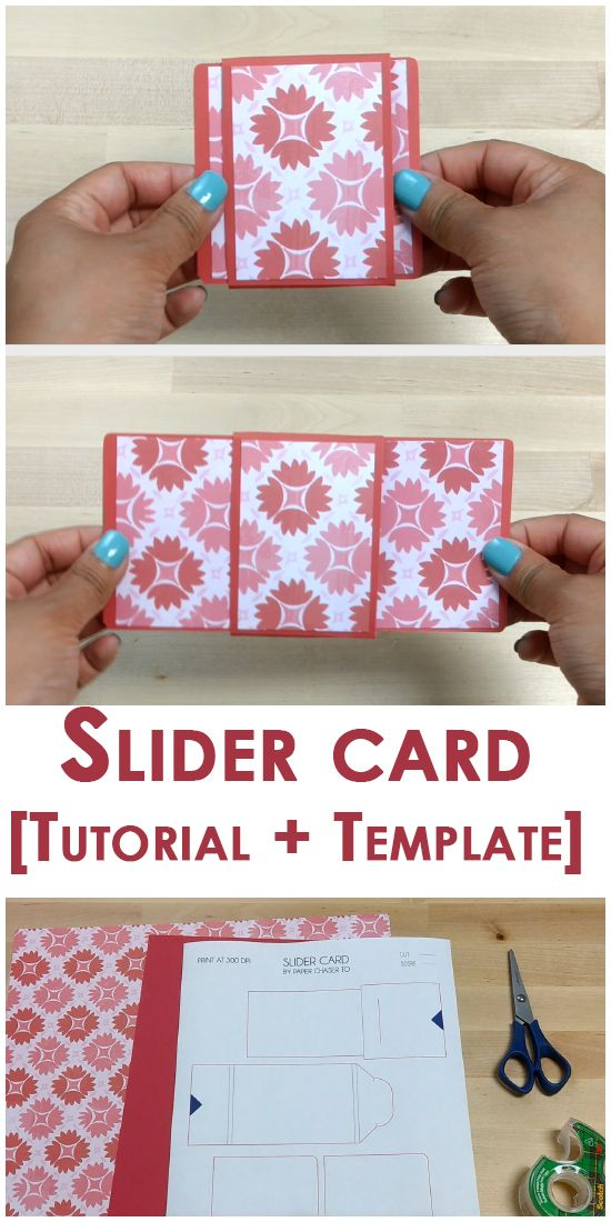 Create this lovely slider card. With a tutorial that's easy to follow along and a