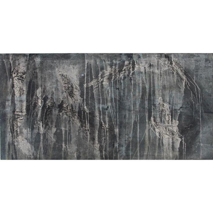 My #textured painting in #grey and #blue (120cm x 80cm)  . . . . . #abstract #art #abstractart #minimal #design #painting #contemporaryart #artgallery #instaart #modernart #interiordesign #interieur #kunstwerk #mycreativelife #textuur #schilderij