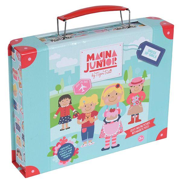 Magna Junior Case - Dress up girls #limetreekids