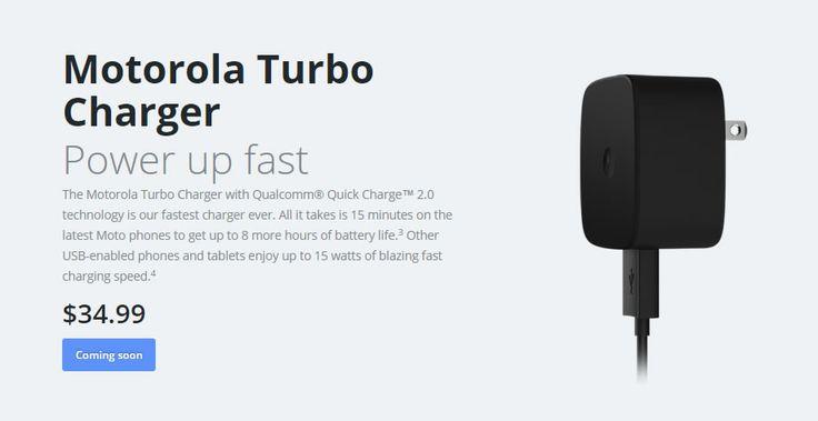 The Motorola Turbo Charger