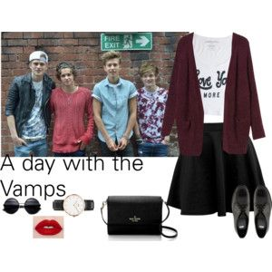 A day with the vamps