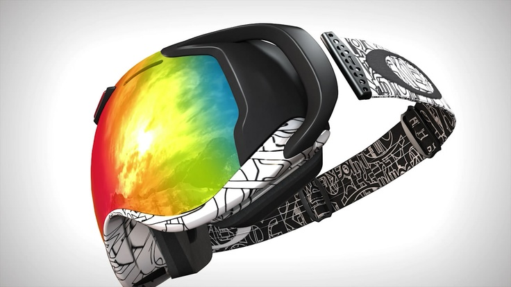 Un masque de ski high tech et connecté: l'Airwave d'Oakley