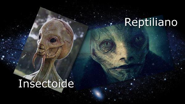 raza extraterrestre parasitaria insectoide en la ficción