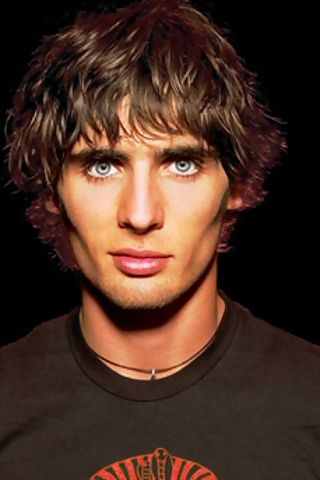 Tyson Ritter from All American Rejects. Used to LOVE them. Probably still would. I should listen to a cd again.