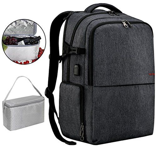 1d18553dd87f Chic SLOTRA Travel Picnic Backpack for Men Women Waterproof 17 inch ...