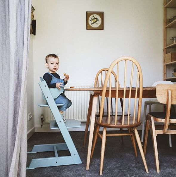 The Seventy Tree Blog, Tripp Trapp Stokke High Chair, Trona Stokke.