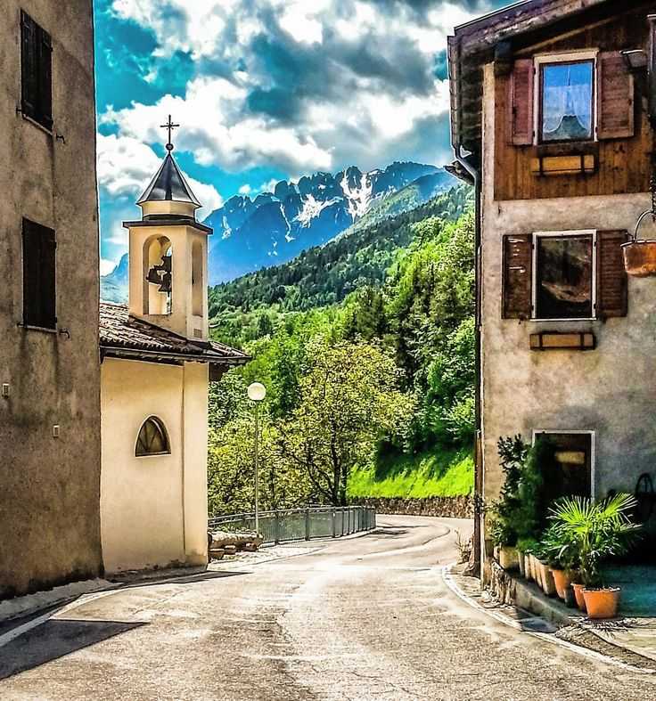 Vallarsa (TN), Italy. ●Pic by: @fer.ricciardi (2015) . #staineri #vallarsa #trento #trentinoaltoadige #italy #travelphotography #travellover #nature #beautifulday #picoftheday #tree #church #travelforever #freedom #super_italy #instatravel #photooftheday #peace #mountains #relax #travelforever #happy