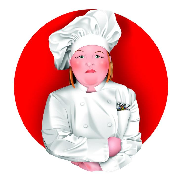 Chef Paquita. Carme Badia ilustradora