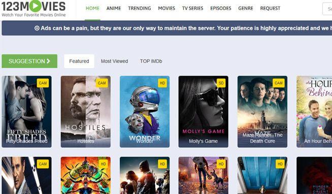 stream movies online unblocked