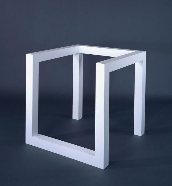 Sol LeWitt, Incomplete Open Cube 8/5 (1974), via Artsy.net